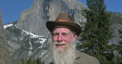 Lee Stetson's career includes writing many one-person shows based on the life of naturalist John Muir. He has portrayed Muir in productions in Yosemite National Park since 1983.