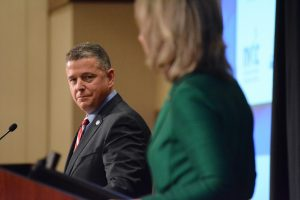 Chamber of Commerce President and CEO Tony Howard. (Renss Greene/Loudoun Now)