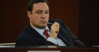 Supervisor Matthew F. Letourneau (R-Dulles) was among those grudgingly supporting the applicaiton. (Renss Greene/Loudoun Now)