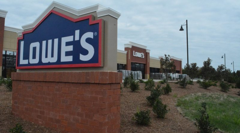 The Lowe's store along East Market Street is one of the latest development projects to undergo review in Leesburg's H2 Overlay District.