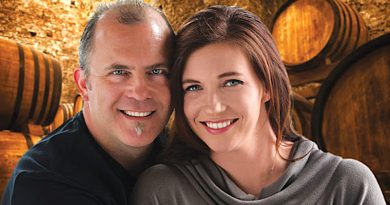 "Husband-and-wife duo and owners of Notaviva Vineyards Stephen and Shannon Mackey recently released a book ""Dream, Build, Believe. Love, Wine, Music and the Founding of Notaviva Vineyards."""