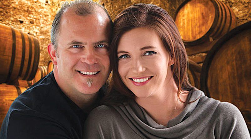 """Husband-and-wife duo and owners of Notaviva Vineyards Stephen and Shannon Mackey recently released a book """"Dream, Build, Believe. Love, Wine, Music and the Founding of Notaviva Vineyards."""""""