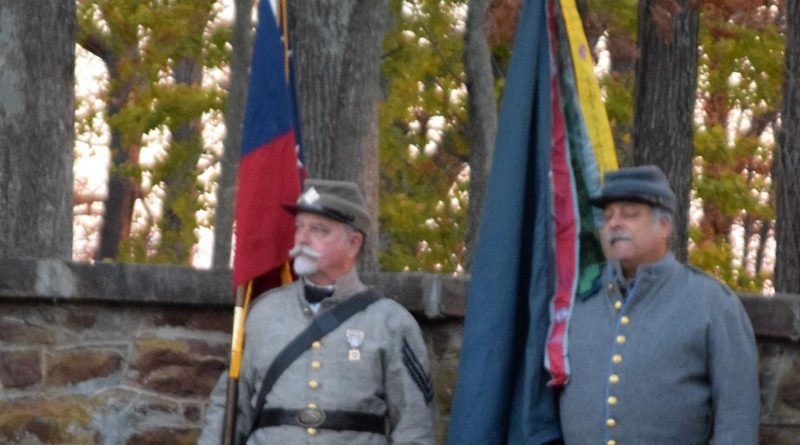 Veterans Day Sunrise Ceremony at Balls Bluff Cemetery