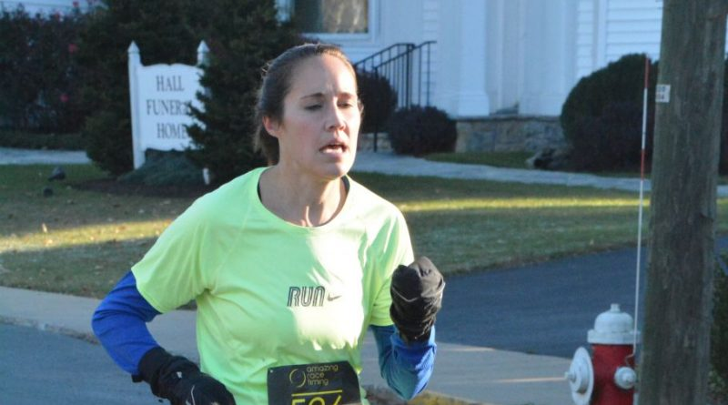 Amy Boyd was the top female finisher, crossing the finish line in from the Loudoun Valley Community Center at the 20:25 mark.