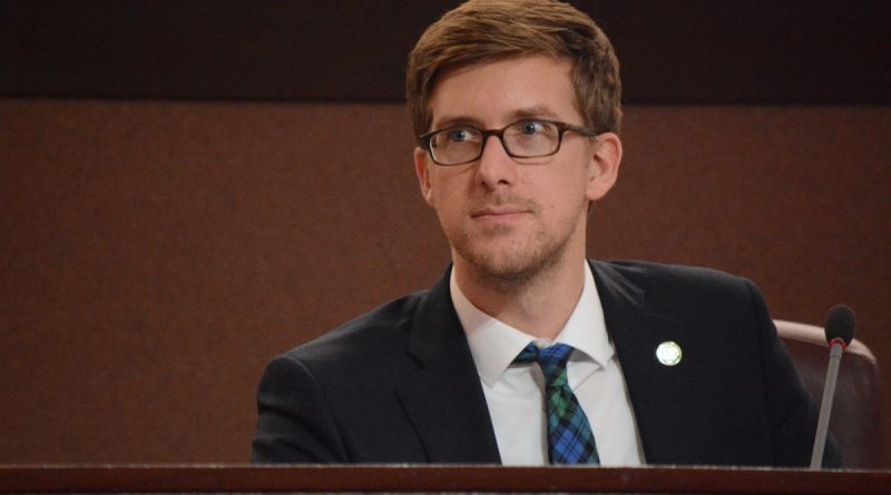 Blue Ridge planning commissioner and comprehensive plan stakeholder steering committee appointee Chad Campbell. (Renss Greene/Loudoun Now)