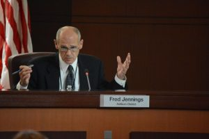 Planning Commissioner Fred Jennings (Ashburn). (Renss Greene/Loudoun Now)