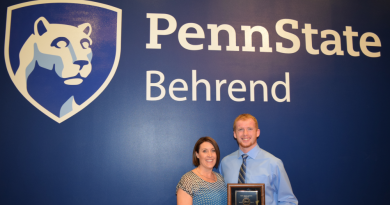 Kost Named Athlete of the Year at PSU Behrend