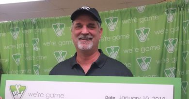 Purceville Adds Millionaire with Lottery Scratch Off