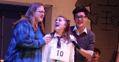 Review: Hilarious, Dedicated Cast Delivers with 'Putnam County Spelling Bee'