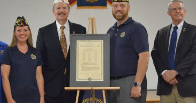 Lovettsville American Legion Post 1836 Gets Official Charter