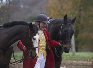 UNITED STATES - November 11, 2015 : Loudoun Hunt started in 1894 and is 121 years old is by far the oldest organized hunt in Loudoun County. Here Joint Master of the Hunt Lawrence Dale III prepares horses at Hume Farm off of Dry Mill Road near Leesburg. (Photo By Douglas Graham/Loudoun Now)