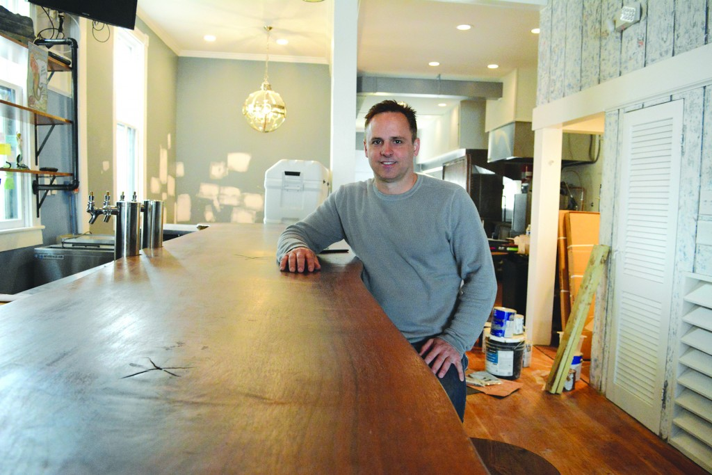 Rick Allison is making his mark on Leesburg's food scene. Two years after he opened Pittsburgh Rick's on Market Street, he is launching King Street Oyster Bar just around the corner. (Renss Greene/Loudoun Now)
