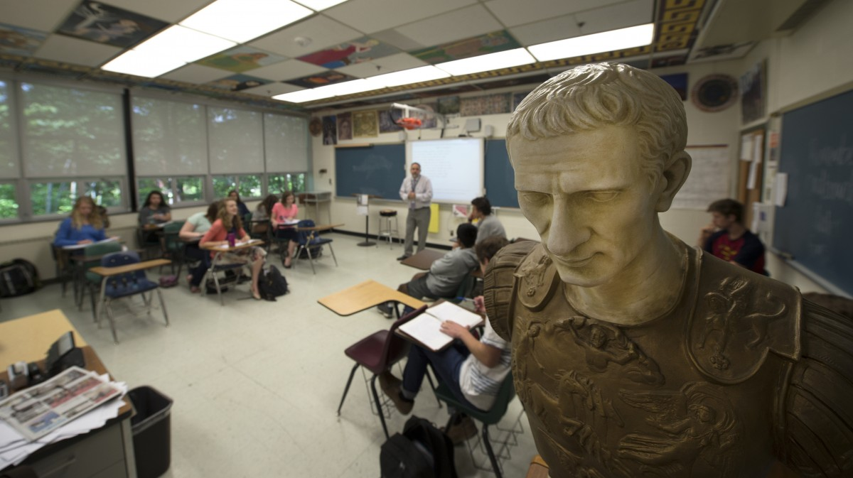 The Undead Language: Latin is Hot in Loudoun Schools