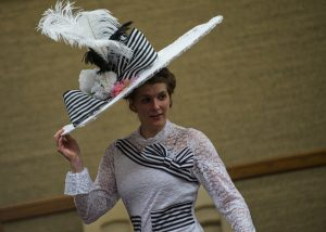 "Corinne Fox plays the role of Eliza Doolittle in ""My Fair Lady."" (Douglas Graham/Loudoun Now)"