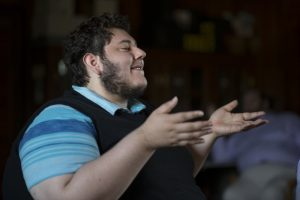 "Christian Jost, co-writer and co-director of ""Love, He Called It."" (Douglas Graham/Loudoun Now)"
