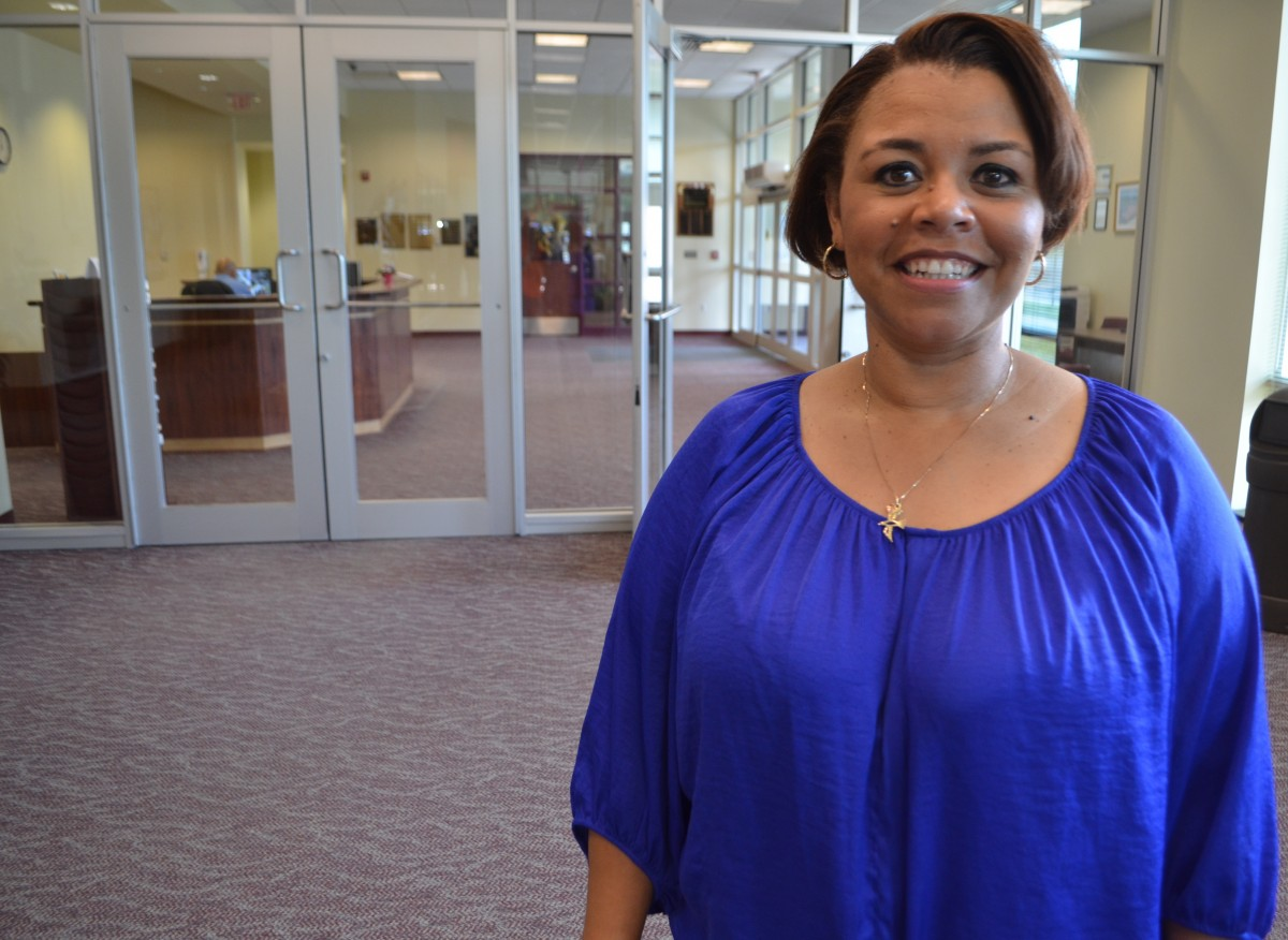 Renee Dawson has been named principal of the future Brambleton Middle School. (Danielle Nadler/Loudoun Now)