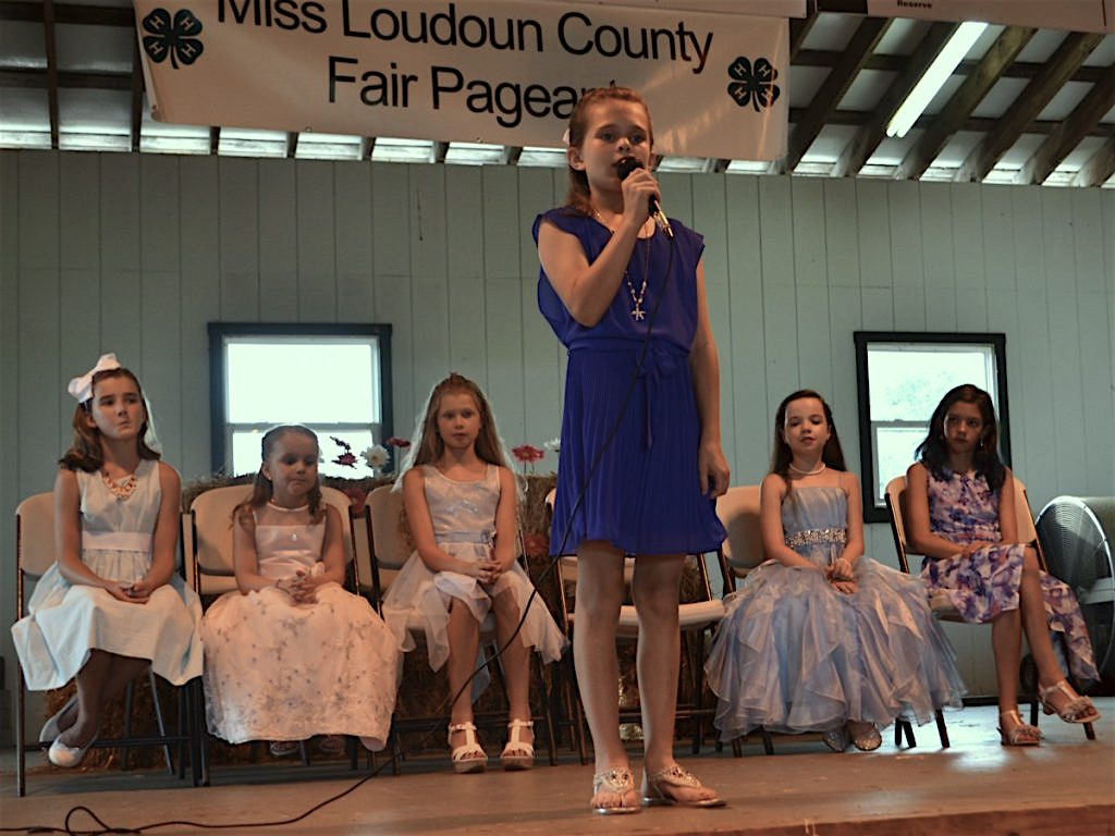 miss county fair pageant kicks off fair week  u2013 loudoun now