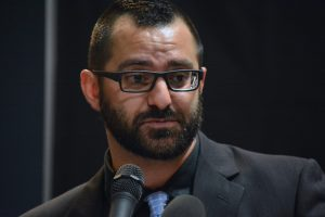 Nick Yacoub tells his own story of recovery from addiction. Renss Greene/Loudoun Now