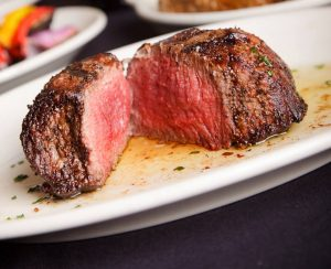 Weideman says a great steak is about consistency, marbling and tenderness. [Courtesy of DC Prime/Brad Weideman]