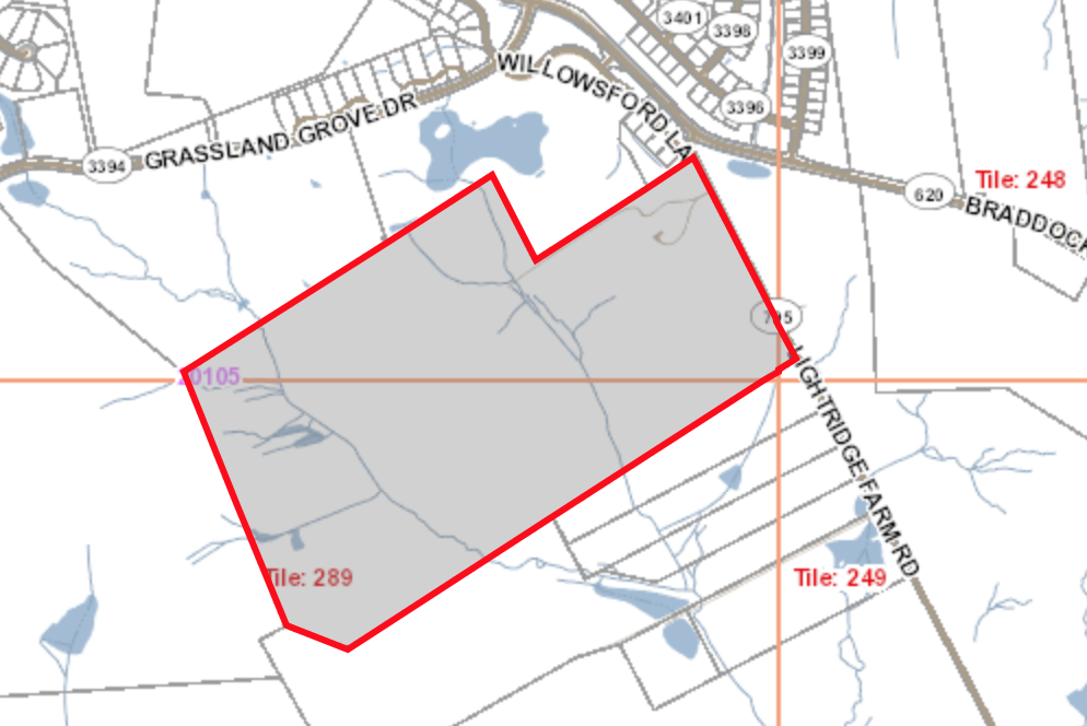Land at 25077 Lightridge Farm Road will be the home of HS-9 come 2021.