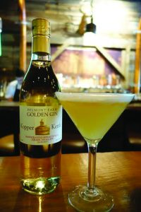 Copperwood Tavern's Smoke N' Barrel cocktail features gin distilled in Culpeper. [Courtesy of Copperwood Tavern]