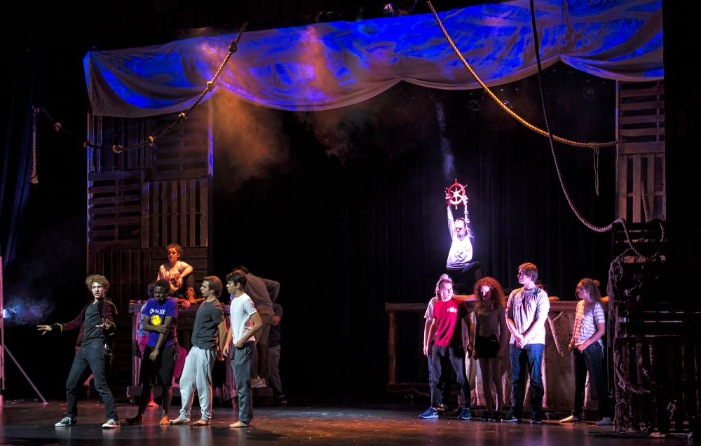 Rock Ridge High School's production of Peter and The Starcatcher, a prequel to Peter Pan. [Doug Graham/Loudoun Now]