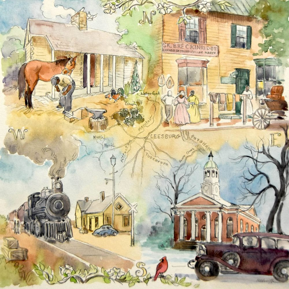 Arts Advocate\'s Vision to be Realized with Downtown Mural – Loudoun Now