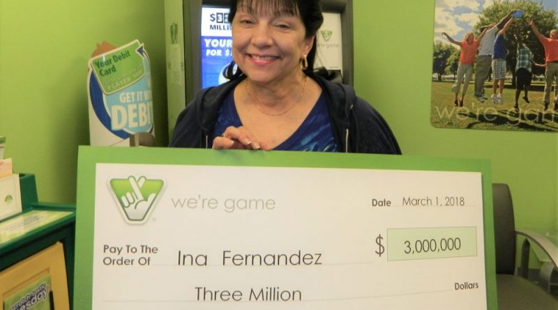 Sterling Woman Claims $3M Lottery Win Before Deadline