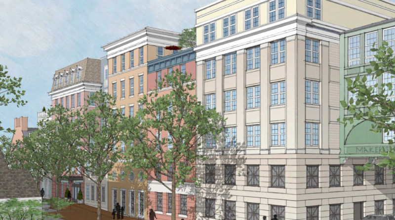 Plans for Downtown Apartments Reach Leesburg Commission for Review