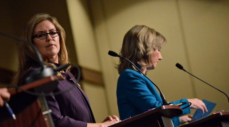 Comstock, Wexton Meet for Packed Debate