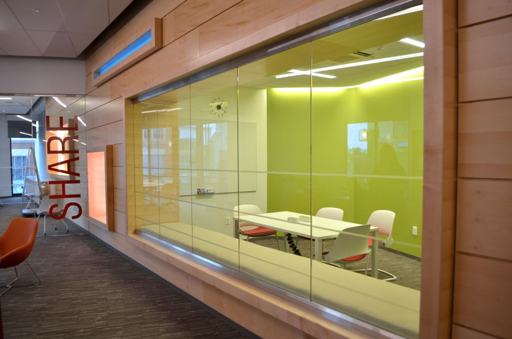 The library includes 10 meeting rooms. [Danielle Nadler/Loudoun Now].  Brambleton ...