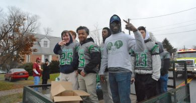 Woodgrove Championship Celebrated with Parade