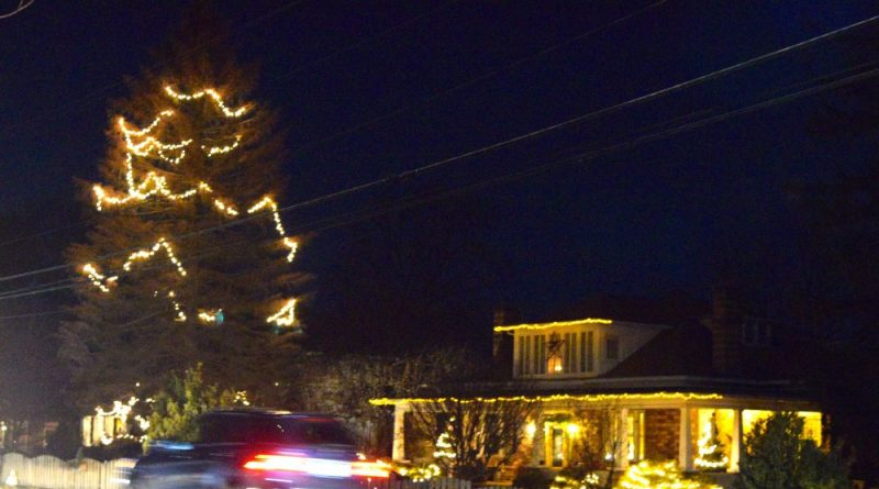5e1b03111887 Iconic Purcellville Christmas Tree Shines One Last Time – Loudoun Now
