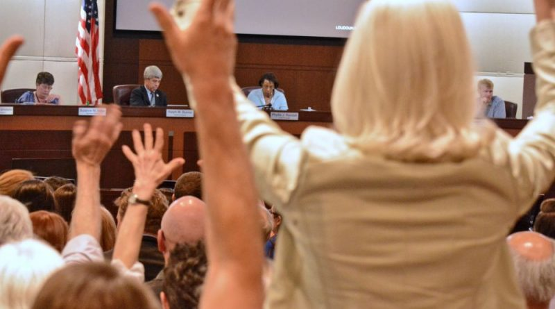 Loudoun Supervisors See Massive Protest at Comp Plan Hearing