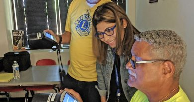 Sterling Lions Club Offers Pop-Up Eye Clinic
